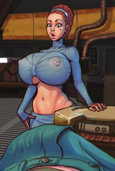 Padme found something by boobsgames