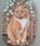 cat portrait commission  by huy-truong
