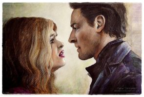 Peter Hale / Lydia Martin by MeduZZa13