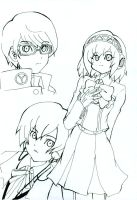 P3+P4 sketch by Miusaionjigirl