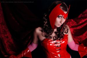 Scarlet Witch by AngelLiriel