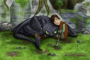 HTTYD: Friends by lovepiratehat