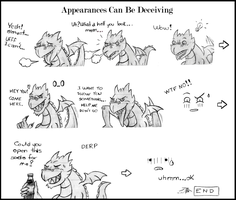 Appearances Can Be Deceiving by GRAVEMIND1110