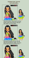 Detailed Hair Tutorial by porcelian-doll
