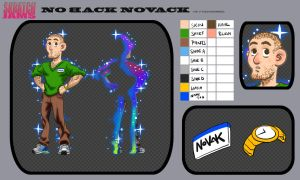 No back Novak by NDGO