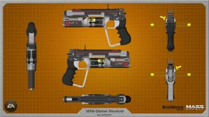 MX6-Demon Heavy Combat Revolver wallpaper by rex3cutor