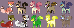 Adoptables 78 by hinanamis