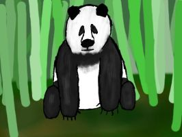 Panda by 13brainless13