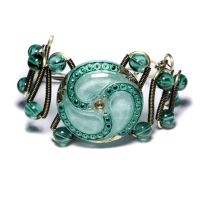 Bracelet Sea Green by CatherinetteRings