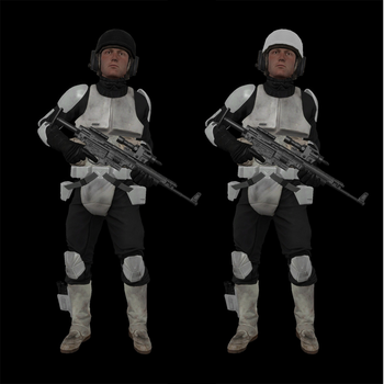 Concept: Imperial Light Infantry/Skirmishers by TheStig123100
