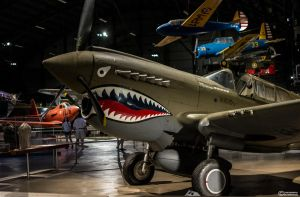 A Tiger With Wings - The P40 by spaxspore