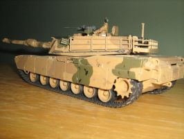 GDI M1 Abrams by Defibulator