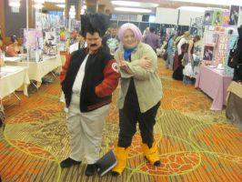 Animefest '12 - Krillan and Trunks by TexConChaser