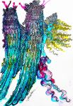 Angelic Warrior by AlulaDreamCreations