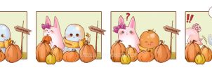 The Pumpkin Patch by OctopusandBunny