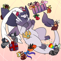 [Birthday Bash] gift giving by fanface