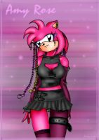 Hot Pink Amy Rose by cuteychao