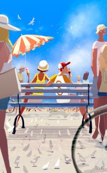 Sunday morning at the pier by PascalCampion