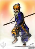 Gatka - Sikh Warriors Nihang by Firozart