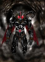 masked rider black by legowosnake
