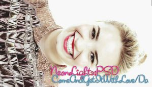 +NeonLights,PSD by ComeAndGetItWithLove
