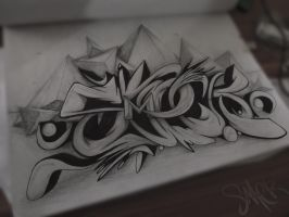 Smeck Graffiti Sketch 29 by SmecKiN