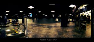 before the crowds: Orchard MRT by Togusa208