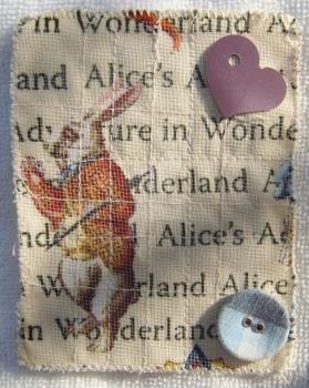 Alice in Wonderland ATC-ACEO by kjtgp1