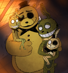FNAF - We Are Golden (Trade) by Atlas-White