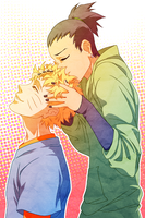 NARUSHIKA : hair kiss by panatheist
