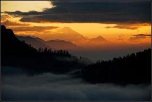 Misty Sunrise by yuvi2