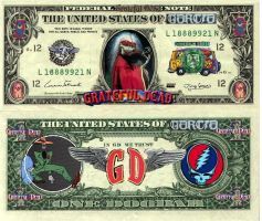 Grateful Dead Dollar by Camron6212