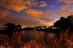 Hutchison Island sunset by FlukieW