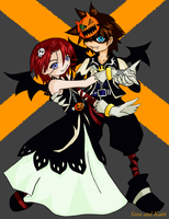Halloween Dance --KH-- by Issa-chan