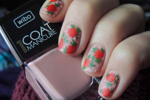 Acrylic flowers by Flagelle