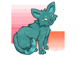 Blue Cat [Chrome Theme Available] by AutumnalFox