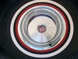 Old Buick Wheel Stock by WKJ-Stock