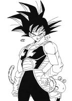 Dragonball  - Episode of Bardock by TriiGuN