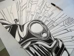 53 Buick Sharpie Art Preview by PinstripeChris