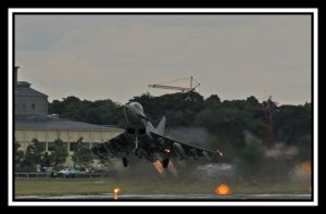 Typhoon With Burners by lizzyr