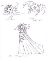 Star Warriors - The Many Faces of Choco by kamon-san