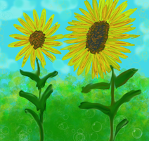 2sunflowers by richair
