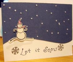 Let it Snow Card by KatrinaS-KardS-Ink