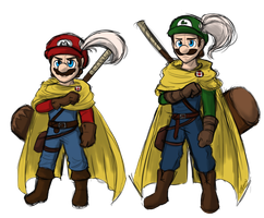 If The Mario Universe Was More Medieval by Elwensa