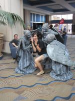 The Weeping Angels 3 by Verlerious