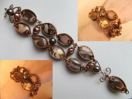 Coffee Bracelet by Galuorwen