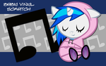 New Born Vinyl Scratch WP by AliceHumanSacrifice0