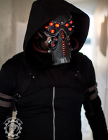 The code ripper - LED cyberpunk mask and goggles by TwoHornsUnited