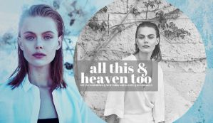 all this and heaven too by cityofsins