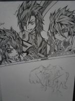 Elsword Fan art (2013) by FireWeaver360